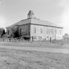 """Listed as the opera house in Halsey Oregon as it appeared in 1965. However it is described as an early Halsey school in """"When the school bells rang"""" by M Albright."""