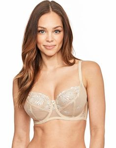 ec0613be54 St Tropez Full Cup Bra Nude Oyster Size 42G rrp 24 SA078