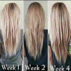 Thiscustomer had an amazing result with this hair product! Nutriol Shampoo, Hair Growth Shampoo, Nu Skin, Facial, Rapunzel Hair, Hair System, Monat Hair, Hair Skin Nails, Beauty Guide