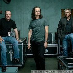 RUSH: Neil Peart, Geddy Lee & Alex Lifeson