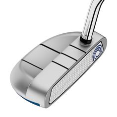 The Odyssey White Hot RX Rossie Putter is a face-balanced mallet with an improved White Hot insert with our award-winning roll technology, a double-bend shaft and full-shaft offset. Kids Golf Clubs, Junior Golf Clubs, Golf Handicap, Golf Bags For Sale, Gold Medal Winners, Golf Putters, Callaway Golf, Golf Outfit, Ladies Golf