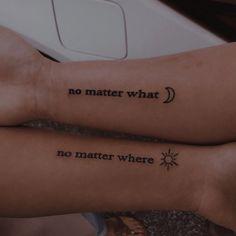 Friend Tattoos Small, Tiny Tattoos For Girls, Small Tattoos, Bestie Tattoos Bff, Dainty Tattoos, Dope Tattoos, Mini Tattoos, Tatoos, Matching Best Friend Tattoos