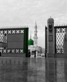 Our Beautiful Madinah❤️❤️❤️ Al Masjid An Nabawi, Masjid Al Haram, Mecca Masjid, Islamic Quotes, Islamic Images, Islamic Pictures, Beautiful Mosques, Beautiful Places, Islamic Wallpaper Hd