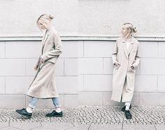 via LookBook American Apparel Jeans, Long Trench Coat, Doc Martens, Autumn Winter Fashion, Duster Coat, Street Wear, Women Wear, Street Style, Style Inspiration