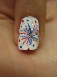 4th of july nail art - Google Search