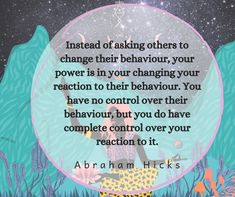 Life Thoughts, Thoughts And Feelings, Behavior Quotes, Awakening Quotes, Light Quotes, Development Quotes, Abraham Hicks Quotes, Law Of Attraction Affirmations, Coping Skills