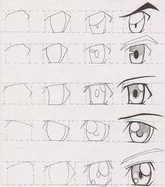 Manga Tutorial Male Eyes 02 by FutagoFude-2insROID.deviantart.com on @deviantART
