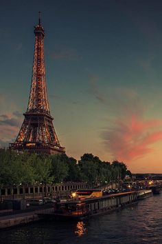 #Paris from the river.