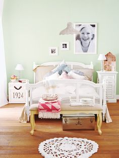 Care for romantic? Here our furnishing ideas come