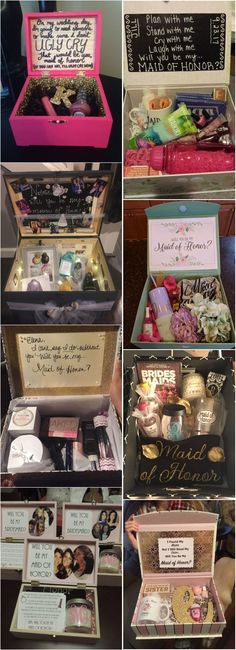 20+ Maid of Honor Proposal Ideas! She loved it and said YES!