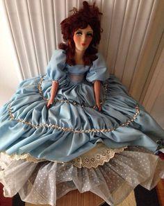 Poupée De Salon , French Boudoir Doll
