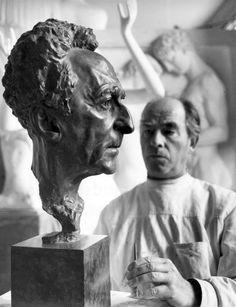 Arno Breker. Retrato de  Cocteau