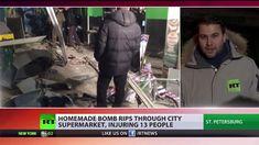 Sankt Petersburg: Bombe explodiert in Supermarkt - Putin spricht von Ter...
