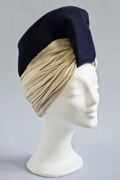Madame Paulette turban hat