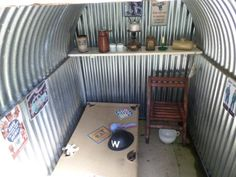 1950s anderson shelter - Google Search Anderson Shelter, Bomb Shelter, British Home, The Blitz, Air Raid, Design Research, Childhood Toys, School Projects, Bushcraft