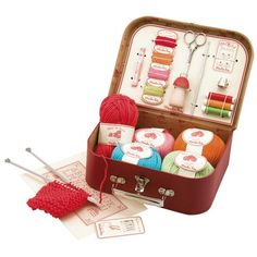 Moulin Roty Kids Sewing and Knitting Kit
