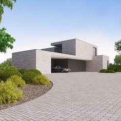 Modern Architecture House, Modern Buildings, Architecture Details, Minimal Architecture, Moore House, Best Modern House Design, Home Garden Design, Dream House Exterior, Villa Design