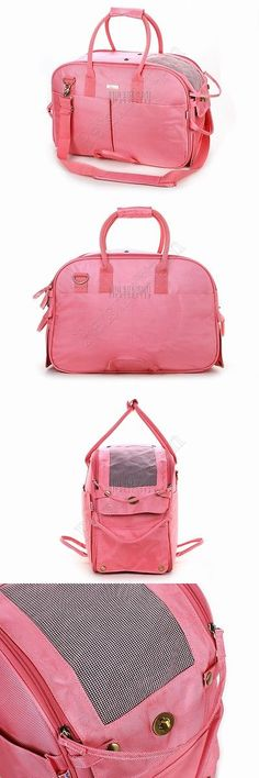 Carriers and Totes 177788: Pink Nylon Dog Tote Purse Pet Carrier Bag Doggy Handbag Cat Totes Bag Puppy Cage -> BUY IT NOW ONLY: $38.0 on eBay!