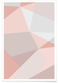 Rosa Kristalle as Premium Poster
