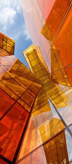Arquitectura color #Naranja - #NaranjasJimenez www.naranjasjimenez.com…