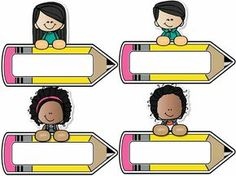 Gafetes preescolar