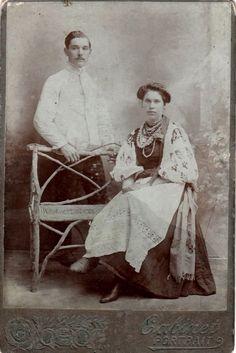 Українці, портретне фото, поч. ХХ ст.