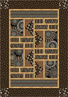 Amber Dreams Quilt designed by Stitch Together Studios for Benartex | FREE pattern & instructions