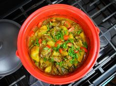 The simplest (and most tasty) curry goat you'll ever make.. and it's done in the oven