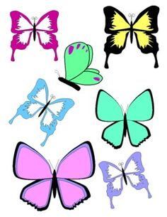 free butterfly clipart clipart pinterest butterfly printable rh pinterest co uk