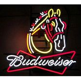 Found it at Wayfair - Business Signs Budweiser Clydesdale Neon Sign