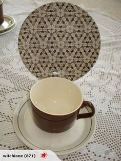 ***Crown Lynn Trios X for sale on Trade Me, New Zealand's auction and classifieds website Vintage Dinnerware, Cup And Saucer, Porcelain, Pottery, Crown, Plates, Tableware, Ceramica, Licence Plates
