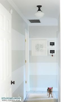 Updating Hallway Lights