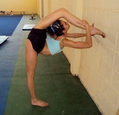 Pure flexibility. My goal, gettting closer every day