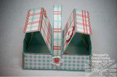 Lady & the Stamp: Picknick box tutorial