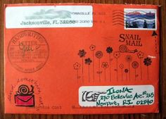 """""""Remember how good it feels when you get a letter in the mail?  A real letter, in your real mailbox, from a real person? There it is nestled among your usual bills and catalogs; a colored envelope, with a cool stamp, hand addressed to you."""""""