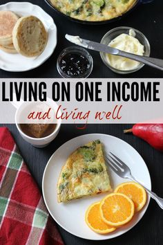 Living On One Income and Living Well