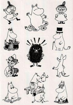 Moomin sticker sheet | Explore ~Elenna~ photos on Flickr. ~E… | Flickr - Photo Sharing!
