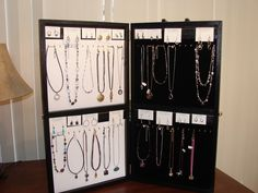 Jewelry Display Cases - WAHM Forums - WAHM.com
