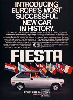 Ford Fiesta, the much loved city car in Europe #ford #car #fordfiesta