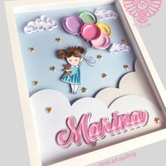 Arte Quilling, Paper Quilling Cards, Quilling Letters, Paper Quilling Patterns, Quilling Paper Craft, Crafts To Make, Diy Crafts, Glass Painting Designs, Quilling Tutorial