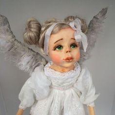 Collectible doll / Коллекционные куклы ручной работы. Ярмарка Мастеров - ручная работа. Купить Авторская кукла ручной работы -Ангел- хранитель. Handmade.