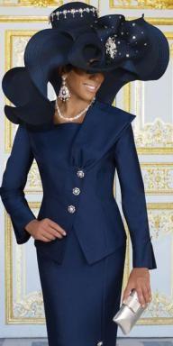 DONNAVINCI HAT #H1407 SS13 [H1407] - $249.00 : Women's Suits, Skirt Suits, Pants Suits, Dress Suits