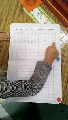 This link will take you to her flickr stream of many math ideas in photos, great at a glance ideas- thanks!