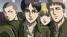 Armin, Titan World, New Image Wallpaper, Attack On Titan Jean, Connie Springer, Teen Titans Go, Madoka Magica, Selfie, Super Smash Bros