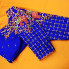 Brocade Blouse Designs, Cotton Saree Blouse Designs, Wedding Saree Blouse Designs, Fancy Blouse Designs, Designer Blouse Patterns, Hand Work Blouse Design, Stylish Blouse Design, Lehenga Saree Design, Maggam Works