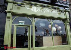 Peppers Restaurant, Menu Restaurant, Vanity, Mirror, Furniture, Home Decor, Dressing Tables, Powder Room, Decoration Home