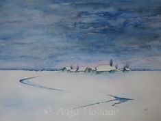 Winter – Art by Anja Winter Art, Watercolor, Abstract, Artwork, Painting, Pen And Wash, Summary, Watercolor Painting, Work Of Art