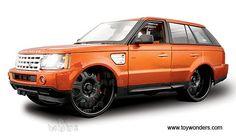 range rover in oRANGE!