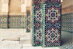 Love mosaic tile.