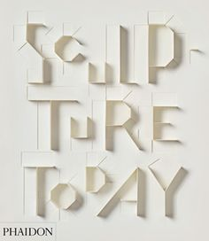 Paper Alphabet by Sonya Dyakova, for the cover of Sculpture today